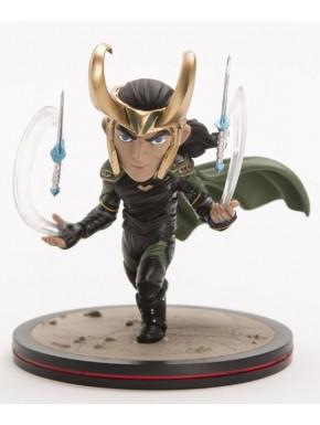 Figura Loki Thor Ragnarok Q-Fig Marvel 15 cm