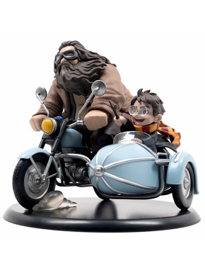 Figura Harry y Hagrid en Sidecar Harry Potter Q-Fig