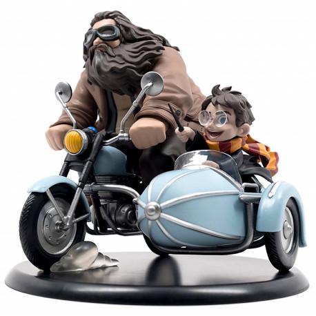Figura Harry y Hagrid en Sidecar Harry Potter Q-Fig