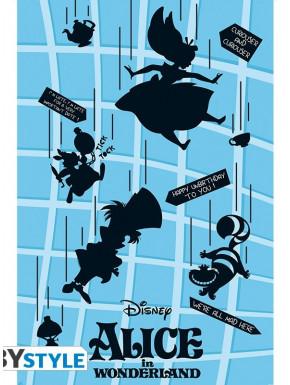 Póster Alicia en el País de las Maravillas Disney 61 x 91 cm