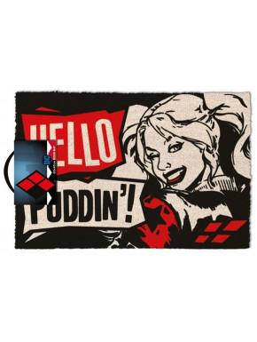 Felpudo Harley Quinn Dc Comics