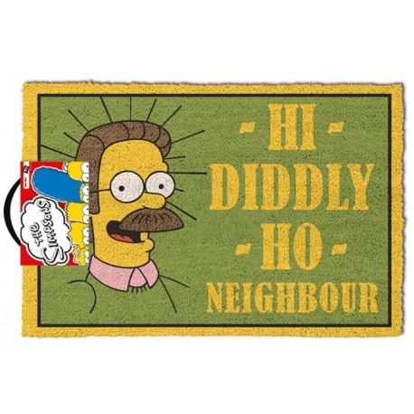 Felpudo coco Los Simpson Flanders