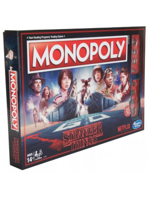 Monopoly Stranger Things Castellano