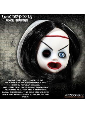 Figura Sacapuntas Bride of Valentine Living Dead Dolls Mezco