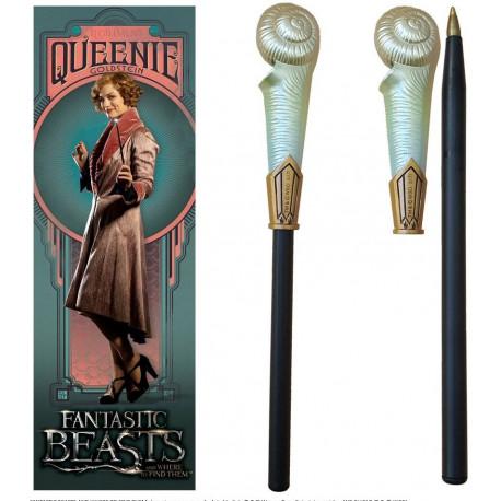 Set bolígrafo y marcapáginas Queenie Goldstein Animales Fantásticos