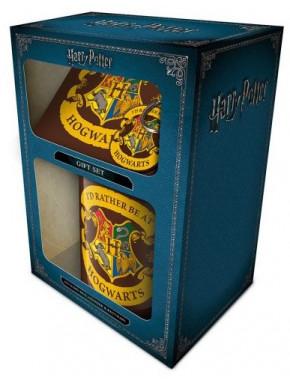Pack regalo Gryffindor Taza + Llavero + Posavasos