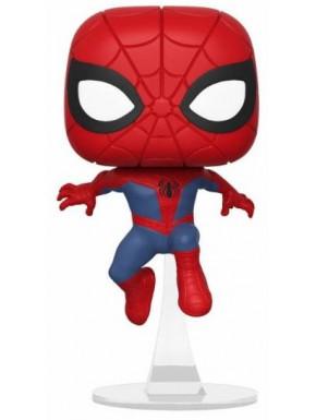Funko Pop! Spiderman Saltando con Peana