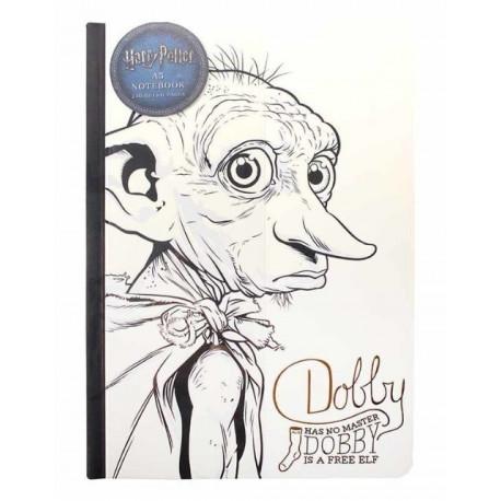 Libreta Premium A5 Harry Potter Dobby