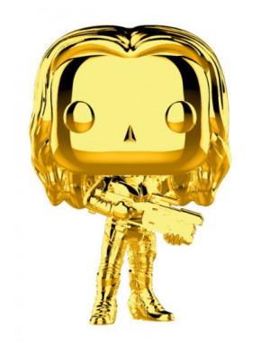 Funko Pop! Gamora Cromado Oro Guardianes de la Galaxia