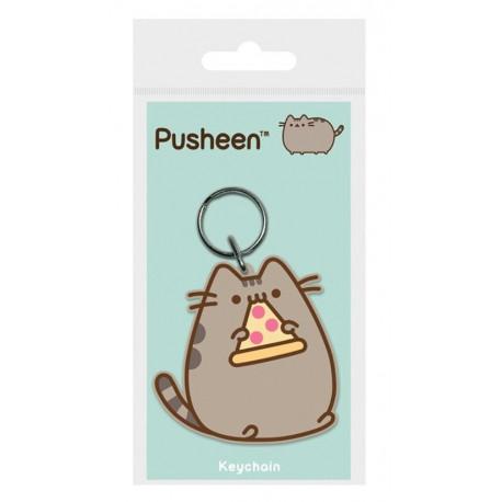 Llavero caucho Pusheen Pizza