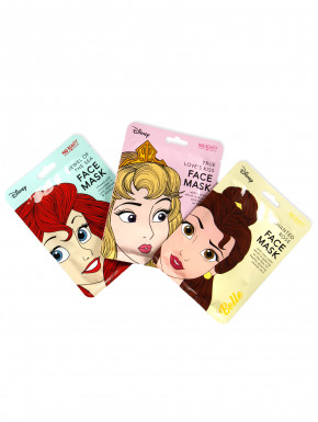 Pack Mascarillas faciales Princesas Disney