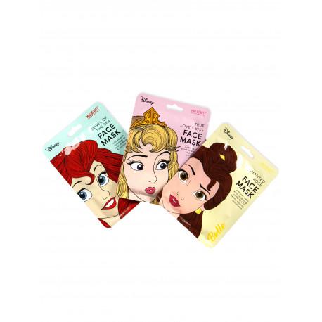 Pack Mascarillas faciales Princesas Disney