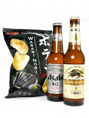 Pack WasaBeer Patatas y Cervezas