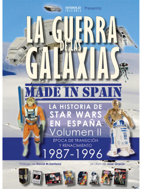 Libro Star Wars La Guerra de las Galaxias Made in Spain 2