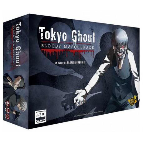 Juego Mesa Tokyo Ghoul Por Solo 41 90 Lafrikileria Com