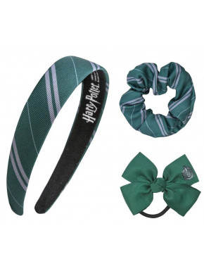 Set accesorios para el pelo Harry Potter Slytherin