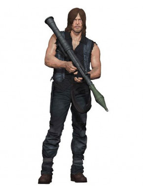 Figura Daryl con Lanzacohetes The Walking Dead McFarlane 25 cm