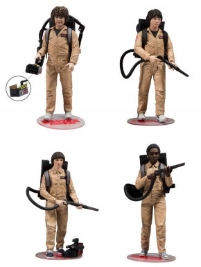 Set figuras Stranger Things Ghostbusters 15 cm McFarlane