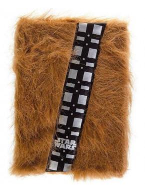 Star Wars Libreta peluda Premium A5 Chewbacca