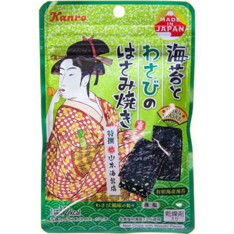 Snack de Alga Nori con Wasabi 4 gr Kanro