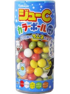 Caramelos de colores Kabaya Jyu-C 35 gr