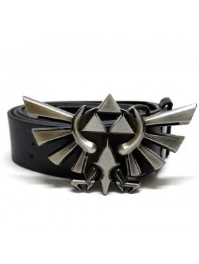 Cinturon trifuerza alada Zelda cuero ancho