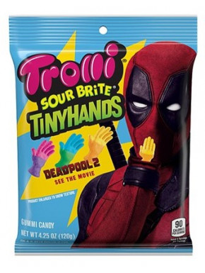 Caramelos Deadpool Trolli 12 gr