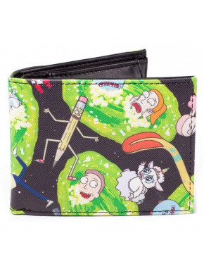 Cartera Rick y Morty Portal