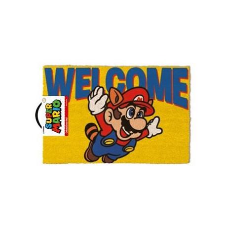 Felpudo coco Super Mario Welcome