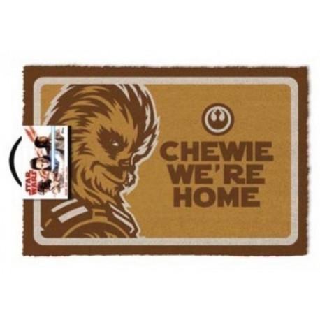 Felpudo coco Star Wars Chewie Were Home