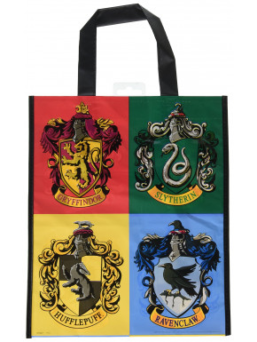 Bolsa Harry Potter Casas Hogwarts