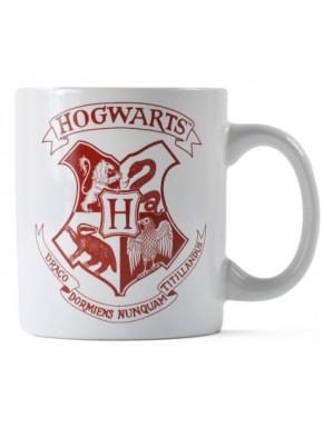 Mini Taza Harry Potter Hogwarts Crest White