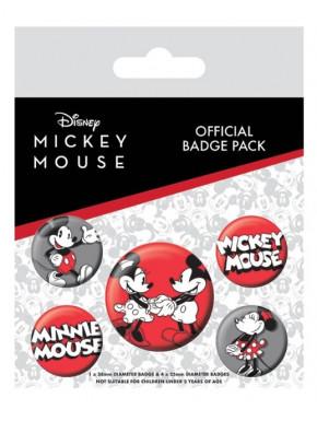 Pack de Chapas Mickey Mouse 90 Aniversario Disney