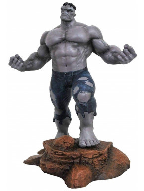 Figura Hulk Gris Marvel Diamont Select 34 cm