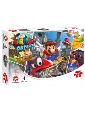 Puzzle Super Mario Odyssey World Traveler