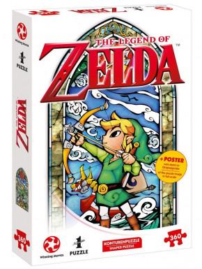 Puzzle Zelda Wind Waker Link Vidriera