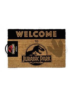 Felpudo Jurassic Park Logo