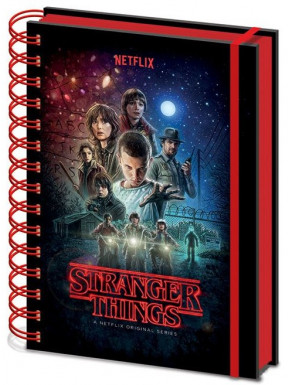 Libreta Premium A5 Stranger Things