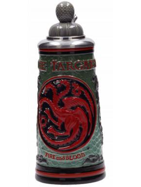 Jarra con tapa Deluxe Juego de Tronos Targaryen