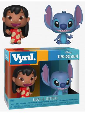 Set Figuras Lilo y Stitch Disney Funko VYNL