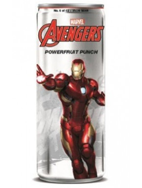 Refresco Avengers Powerfruit Punch Iron Man