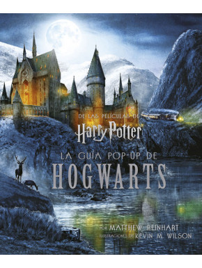 Libro guía Pop-up de Hogwarts Harry Potter en Castellano