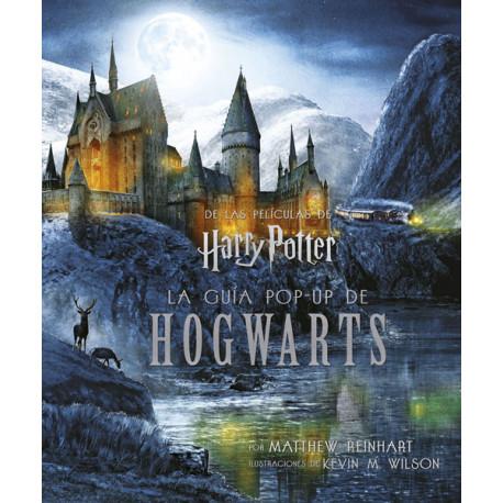 Libro guía Pop-up de Hogwarts Harry Potter en Castellano
