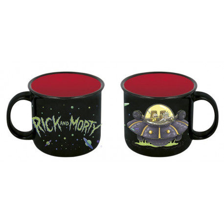 Taza Rick y Morty Nave