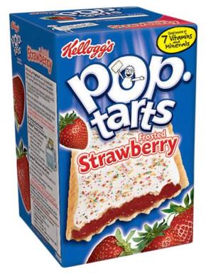 Kellogg's Pop Tarts Fresa Glaseada