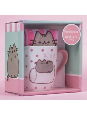 Pack de Regalo Calcetines + Taza Pusheen Marshmallow