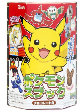 Snack de Chocolate Pikachu Pokemon con Sticker