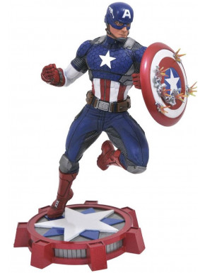 Figura Capitán América Diamond Marvel NOW! 23 cm