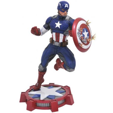 Figura Capitán América Diamond Marvel NOW! 23 cm