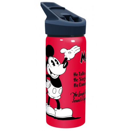 Botella aluminio Mickey Mouse Disney Vintage